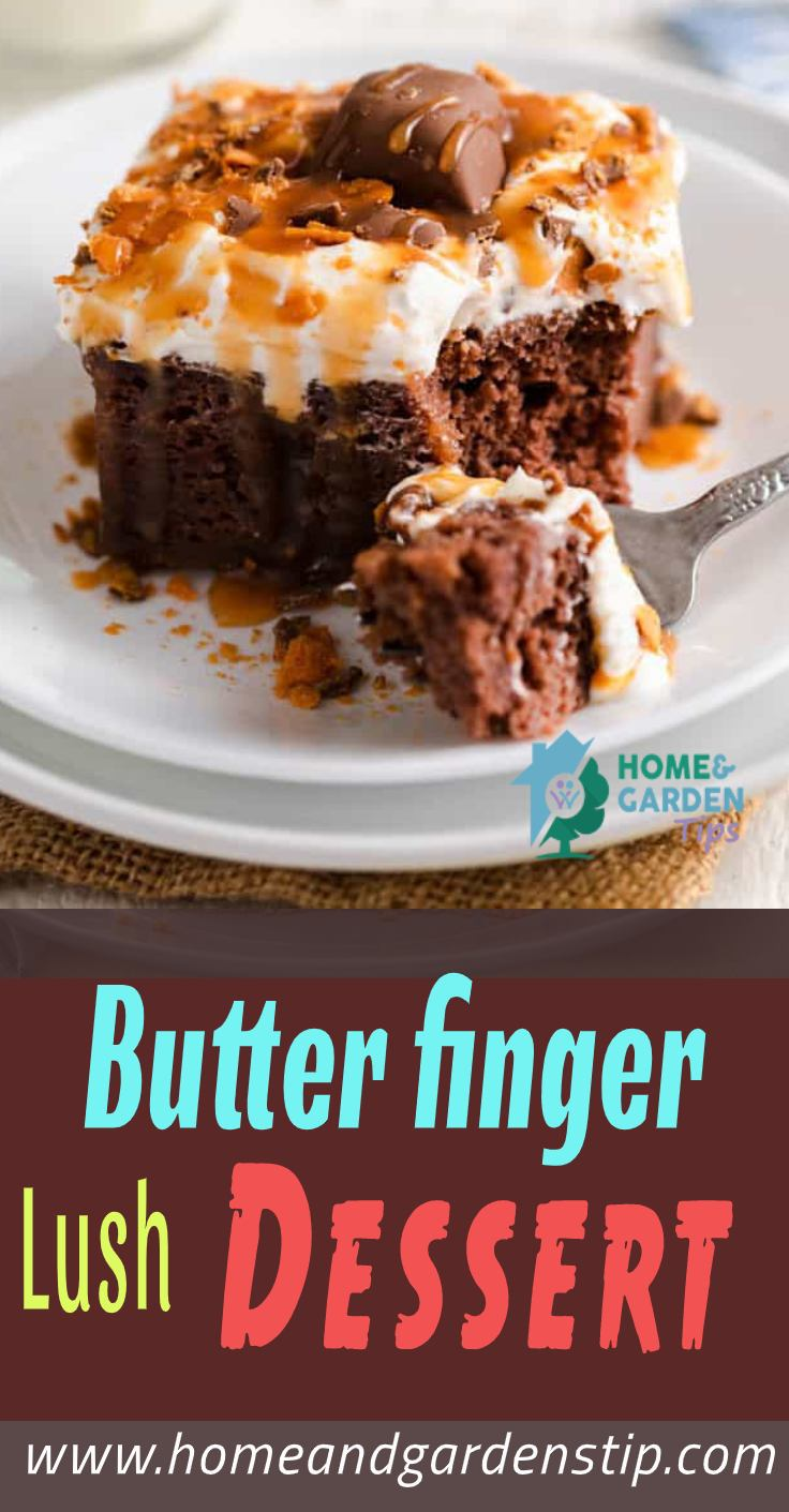 You are currently viewing Butter finger Lush Dessert    Home and Garden Tip