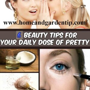 6 beauty tips for your daily dose of pretty   Use Coconut oil