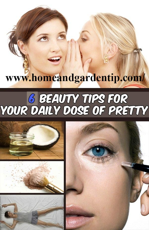 6 beauty tips for your daily dose of pretty | Use Coconut oil