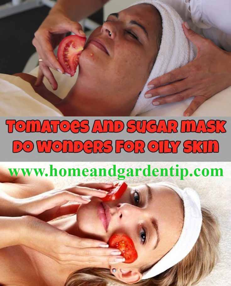 Tomatoes and Sugar Mask Do Wonders for Oily Skin