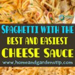 Spaghetti with the best and easiest CHEESE sauce – Tasty food recipes for dinner