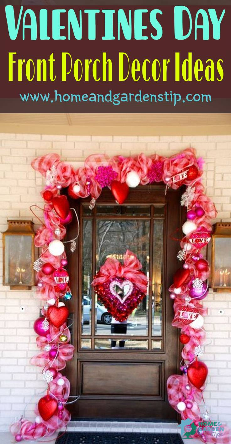 45 Stunning Valentines Day Front Porch Decor Ideas