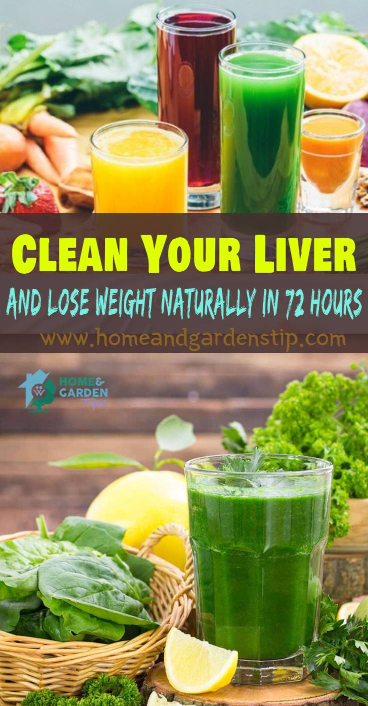 You are currently viewing Best Detox Drink To Clean Your Liver And Lose Weight Naturally In 72 Hours