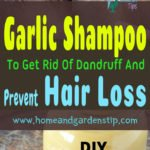 DIY Garlic Shampoo To Get Rid Of Dandruff And Prevent Hair Loss