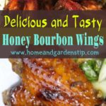 Delicious and Tasty Honey Bourbon Wings Recipe