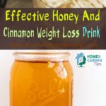 Effective Honey And Cinnamon Weight Loss Drink at Home
