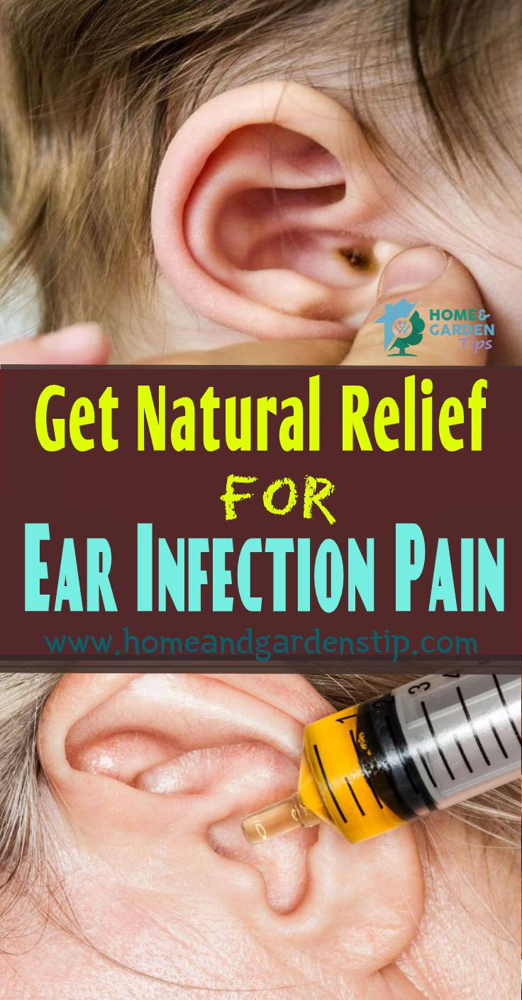 How To Get Natural Relief For Ear Infection Pain