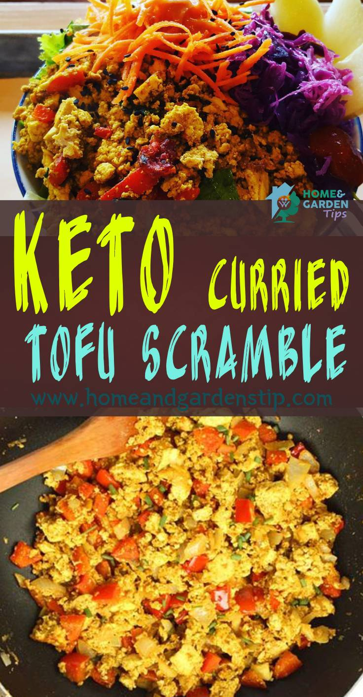 Keto Curried Tofu Scramble – YUM!!! ⠀