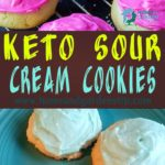Keto Sour Cream Cookies (Sugar Cookies)