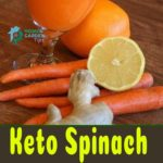 Keto Spinach Carrot Juice