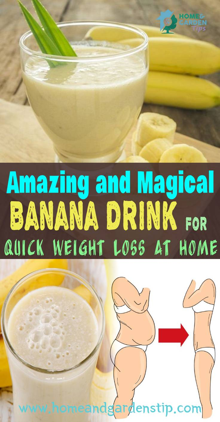 You are currently viewing Amazing and Magical Banana Drink For belly fat burning food