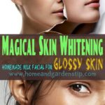 Beauty for skin Whitening Homemade Milk Facial For Glossy Skin