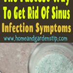 No Antibiotics Needed! The Fastest Way To Get Rid Of Sinus Infection Symptoms