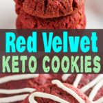 Red Velvet Keto Cookies