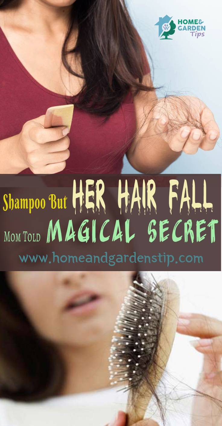 She Tried Each oil And Shampoo But Her Hair Fall Didn't Stop. Then Her Grand Mom Told This Magical Secret