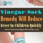 This Vinegar-Sock Remedy Will Reduce Fever In Children Quickly