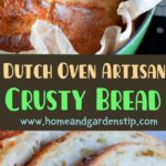 Dutch Oven Artisan Crusty Bread