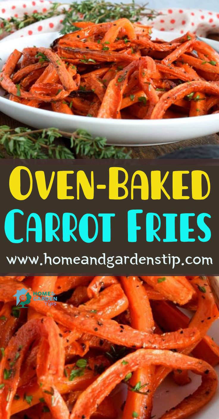 Oven-Baked Carrot Fries