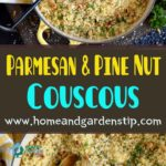 Parmesan and Pine Nut Couscous