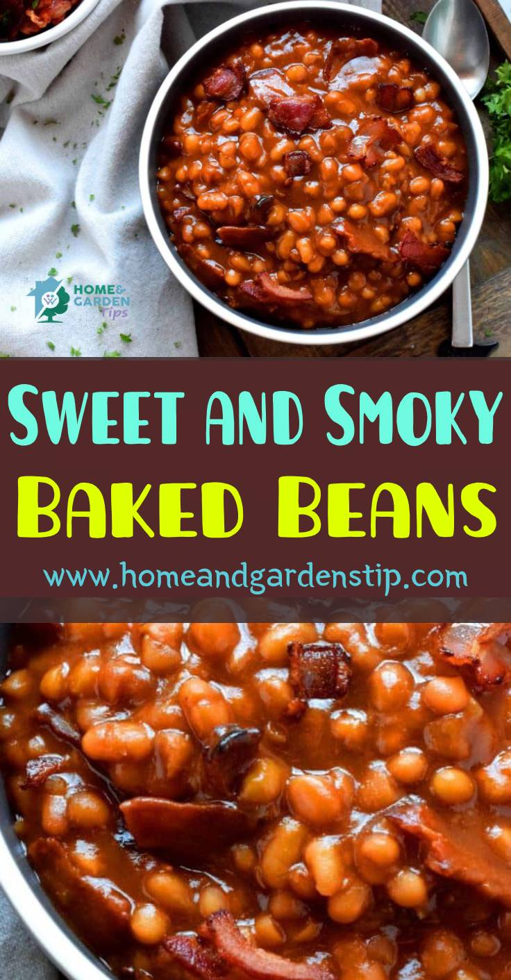Sweet and Smoky Baked Beans