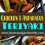 Chicken and Asparagus Teriyaki